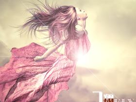 【风。轻扬】飞翔(致星星)